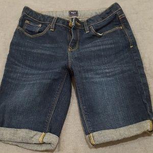 Girls Bermuda jean shorts
